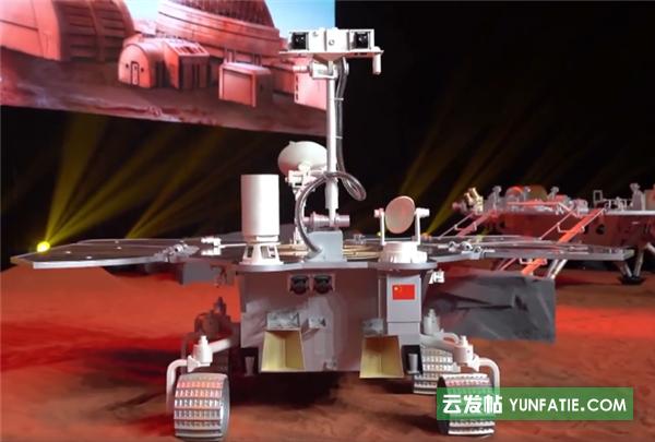 """""""祝融号""""火星车着陆圆满成功_为我国首次火星探测"""