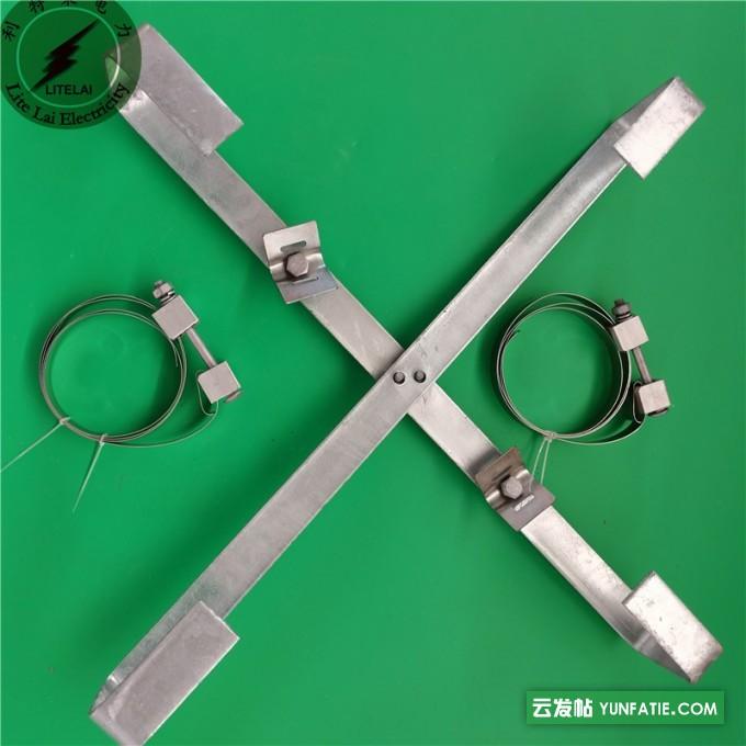 批发杆用内盘式余缆架_光缆十字预留架价格_规格尺寸