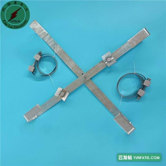 实拍杆用内盘式余缆架_光缆十字盘架_安装简单_结实耐用