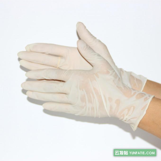 鸿冉医疗一次性医用无菌手套是什么材质的