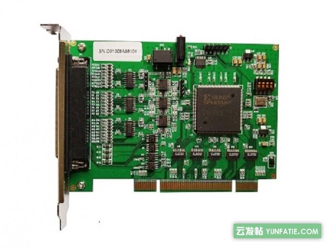 4轴正交编码器和计数器卡PCI