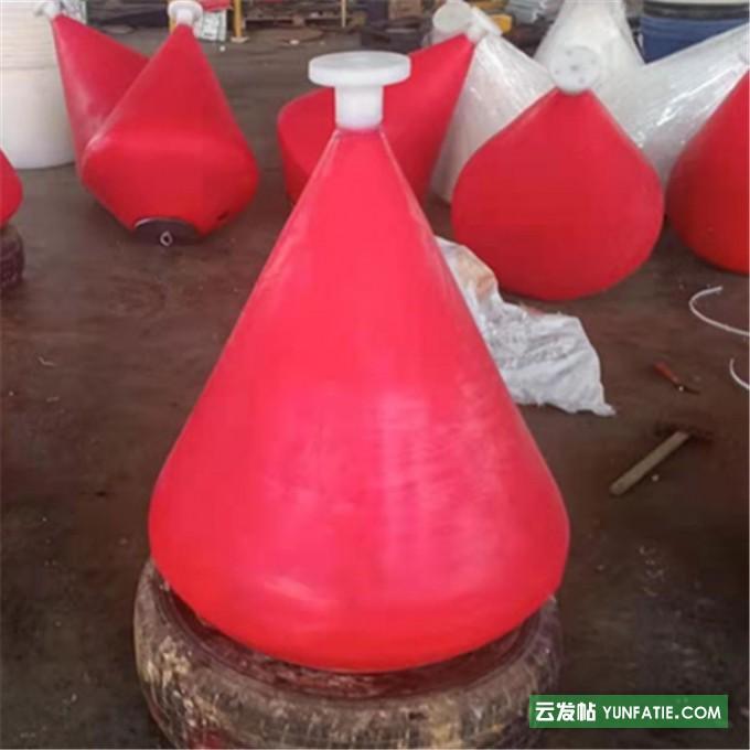水上航道禁入警示拦截聚乙烯塑料航道浮标