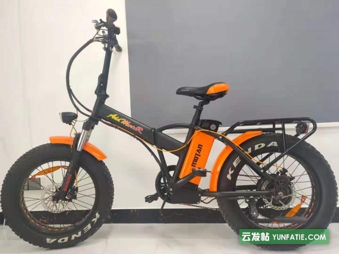 正东自行车锂电池助力宽大防滑车胎前置减震山地自行车
