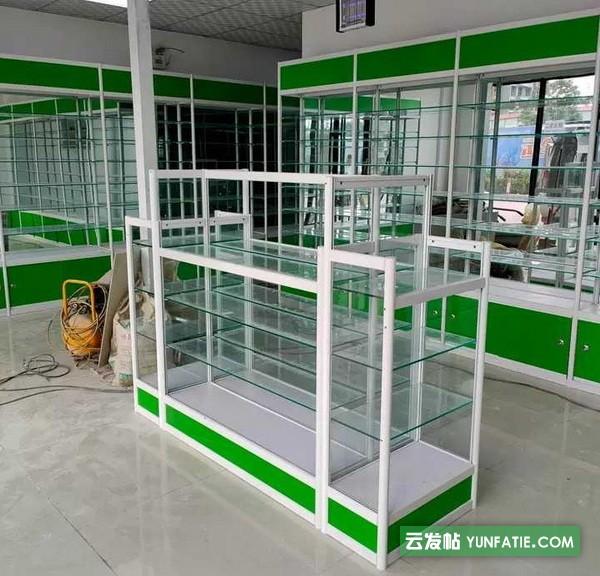 南京门诊部货架|南京诊所柜台