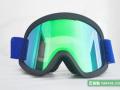 正东PC大柱面双层防雾防风抗冲击松紧带防滑滑雪镜